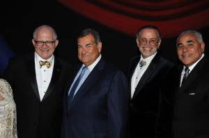 From left to right: Dr. Mark B. Rosenberg, Adolfo Henriques, David Wallack, and Jimmy Morales