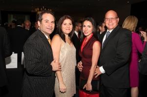 From left to right: Jason Loeb, Marni Loeb, Denia Roth, and Ric Roth
