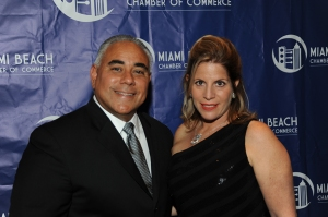 Jimmy Morales and Dori Foster Morales