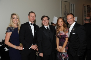 From left to right: Allison Swensson, Eric Swensson, Aaron Tandy, Christine Klingspor, and Michael Greico