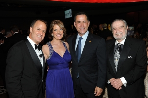 From left to right: Michael S. Goldberg, Kristine Goldberg, Mayor Philip Levine, and Barton Goldberg