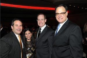 From left to right: Jason Loeb, Micky Steinberg, Richard Steinberg, and Michael Milberg