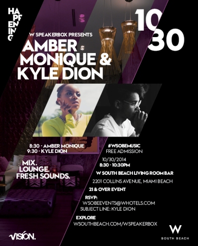Amber Event Flier