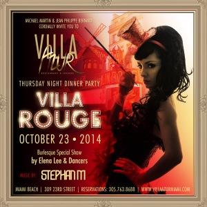 Villa Azur- Rouge Event